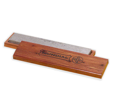 Mundial ZH-4 knife, sharpening stone