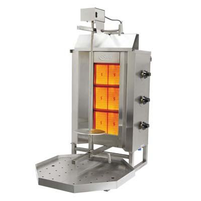 MVP AX-VB3 vertical broiler (gyro), gas