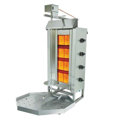 MVP AX-VB4 vertical broiler (gyro), gas