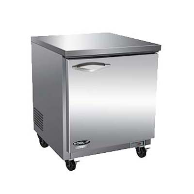 MVP IUC28F freezer, undercounter, reach-in