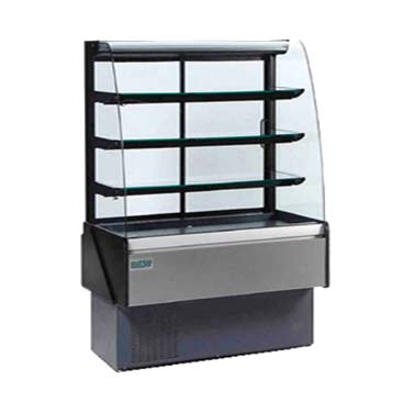 MVP KBD-CG-50-D display case, non-refrigerated bakery