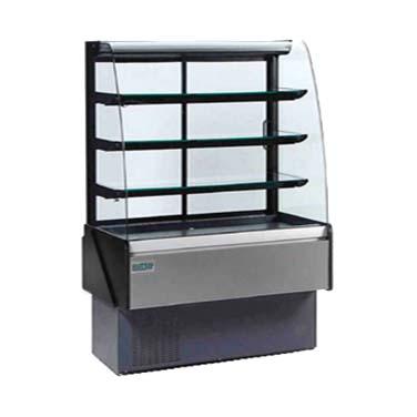 MVP KBD-CG-50-R display case, refrigerated bakery