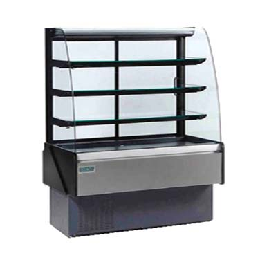 MVP KBD-CG-60-D display case, non-refrigerated bakery