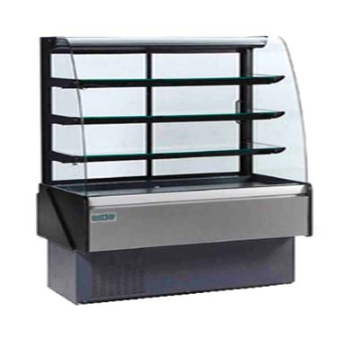 MVP KBD-CG-80-D display case, non-refrigerated bakery