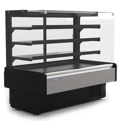 MVP KBD-FG-80-R display case, refrigerated bakery