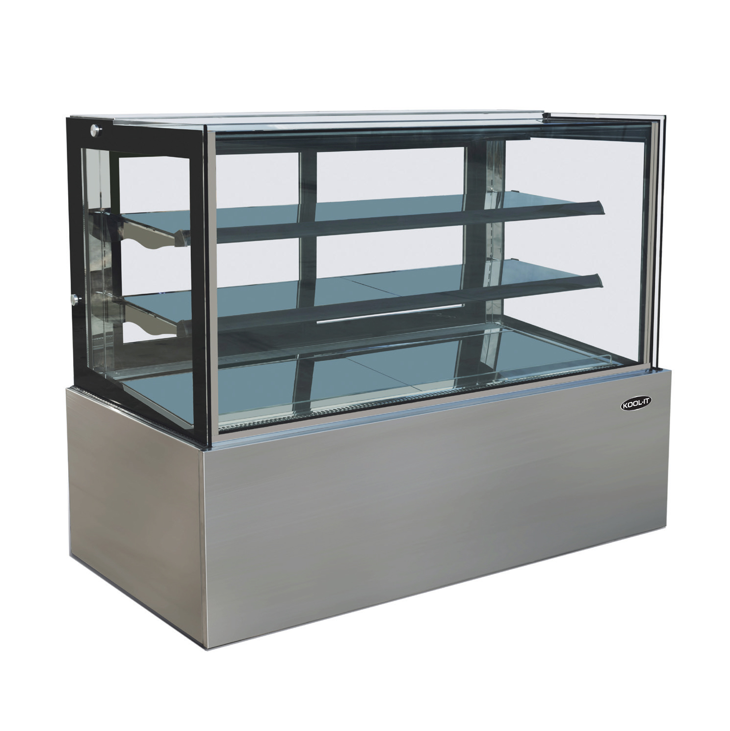 MVP KBF-36D display case, non-refrigerated bakery
