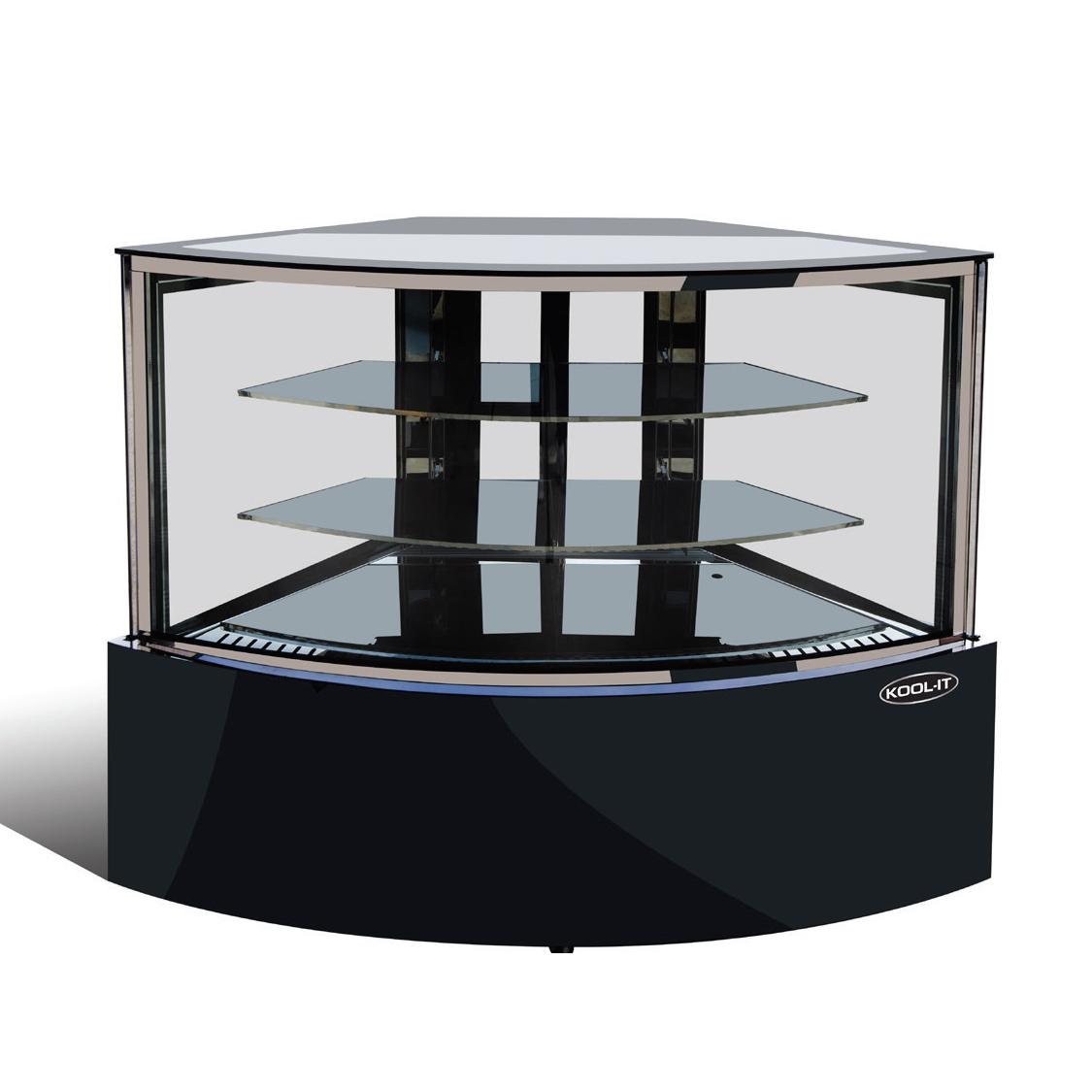 MVP KBF-60CD display case, non-refrigerated bakery