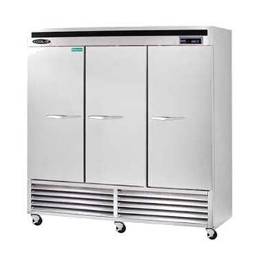 MVP KBSF-3 freezer, reach-in