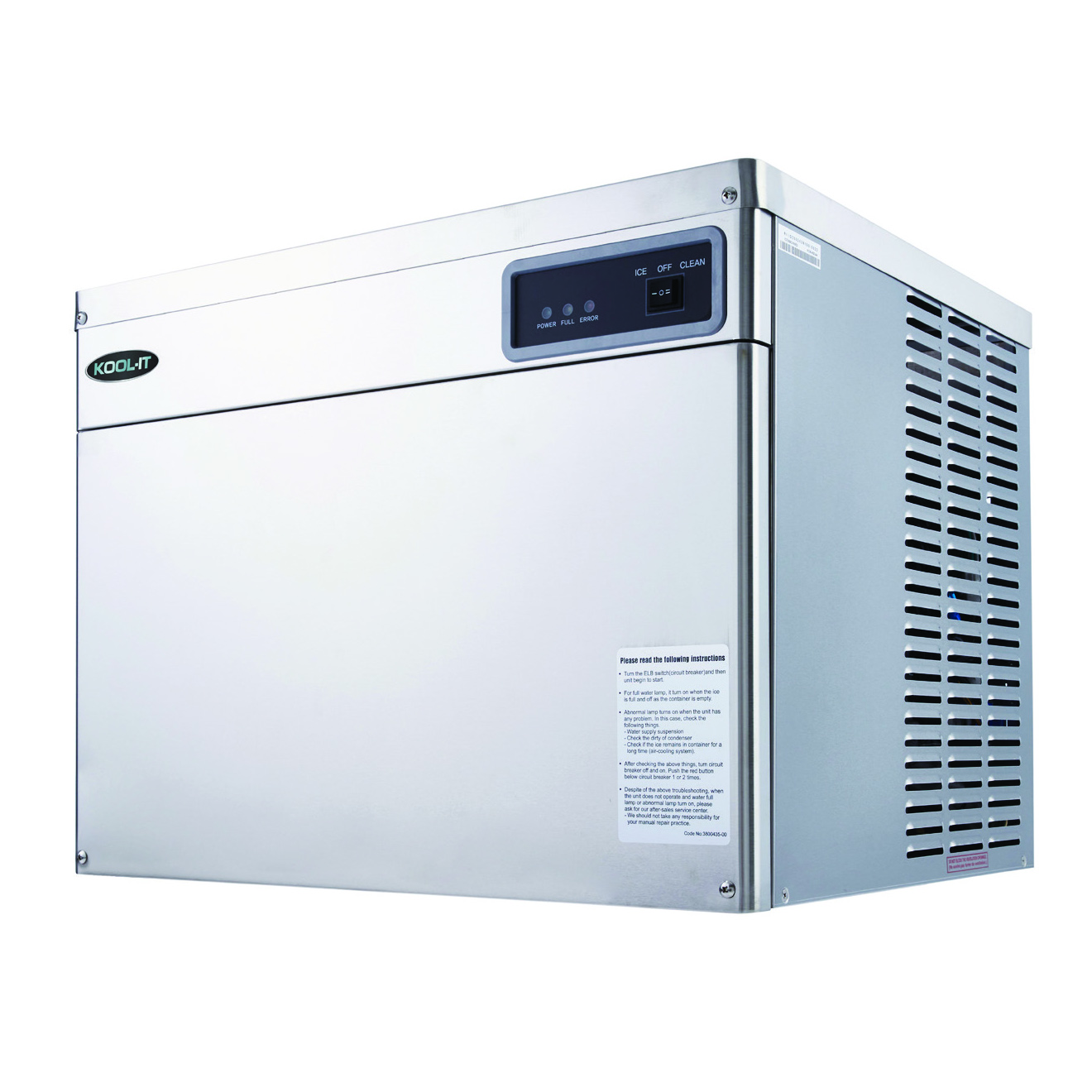 MVP Group LLC KCM-670-AH ice cubers, ice storage & ice dispensers