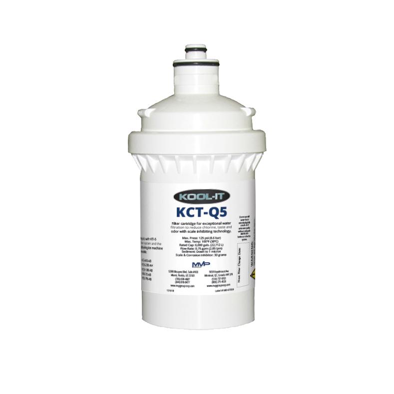 MVP Group LLC KCT-Q5 water filtration system, cartridge
