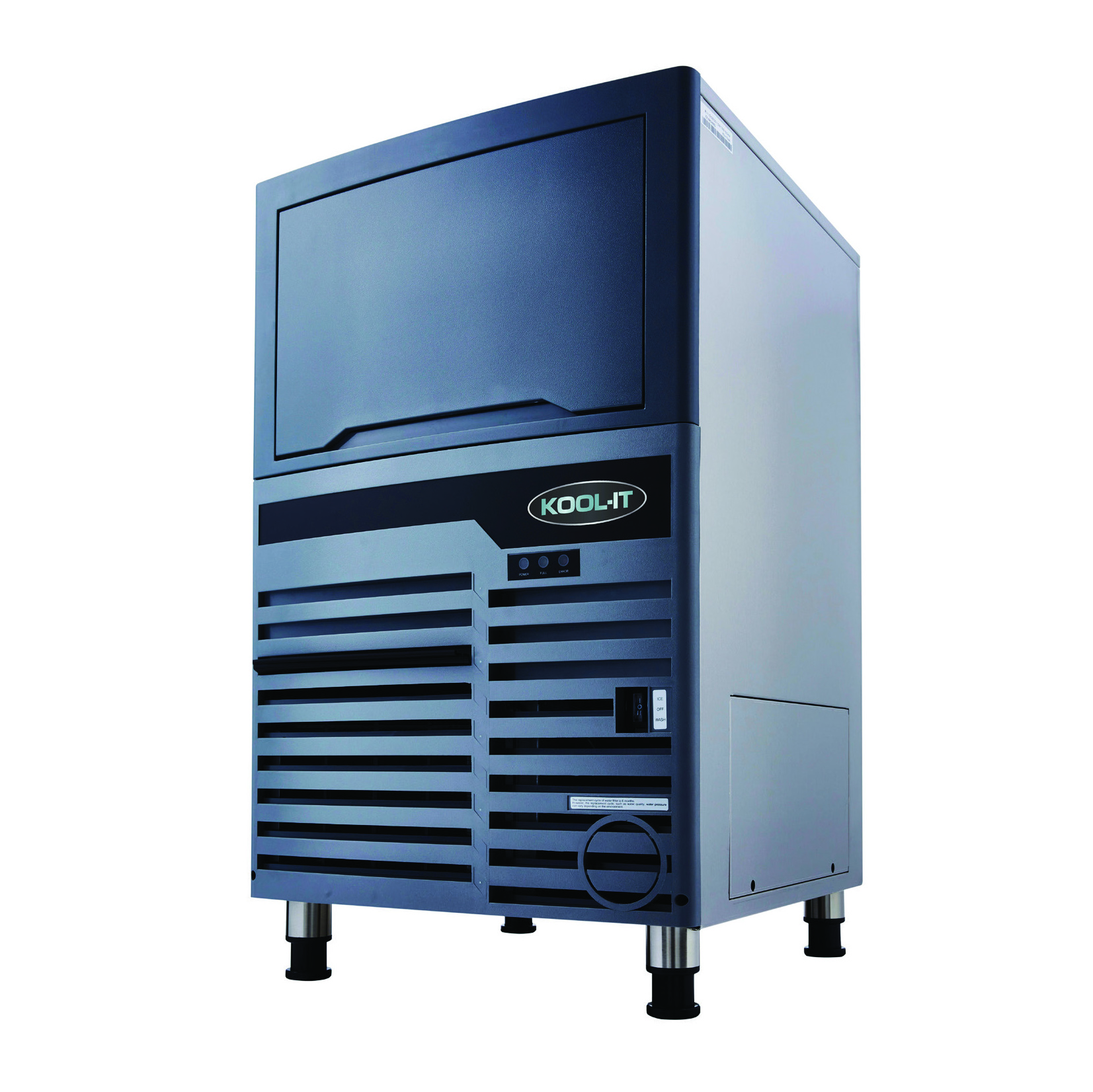 MVP KCU-110-AH ice maker with bin, cube-style