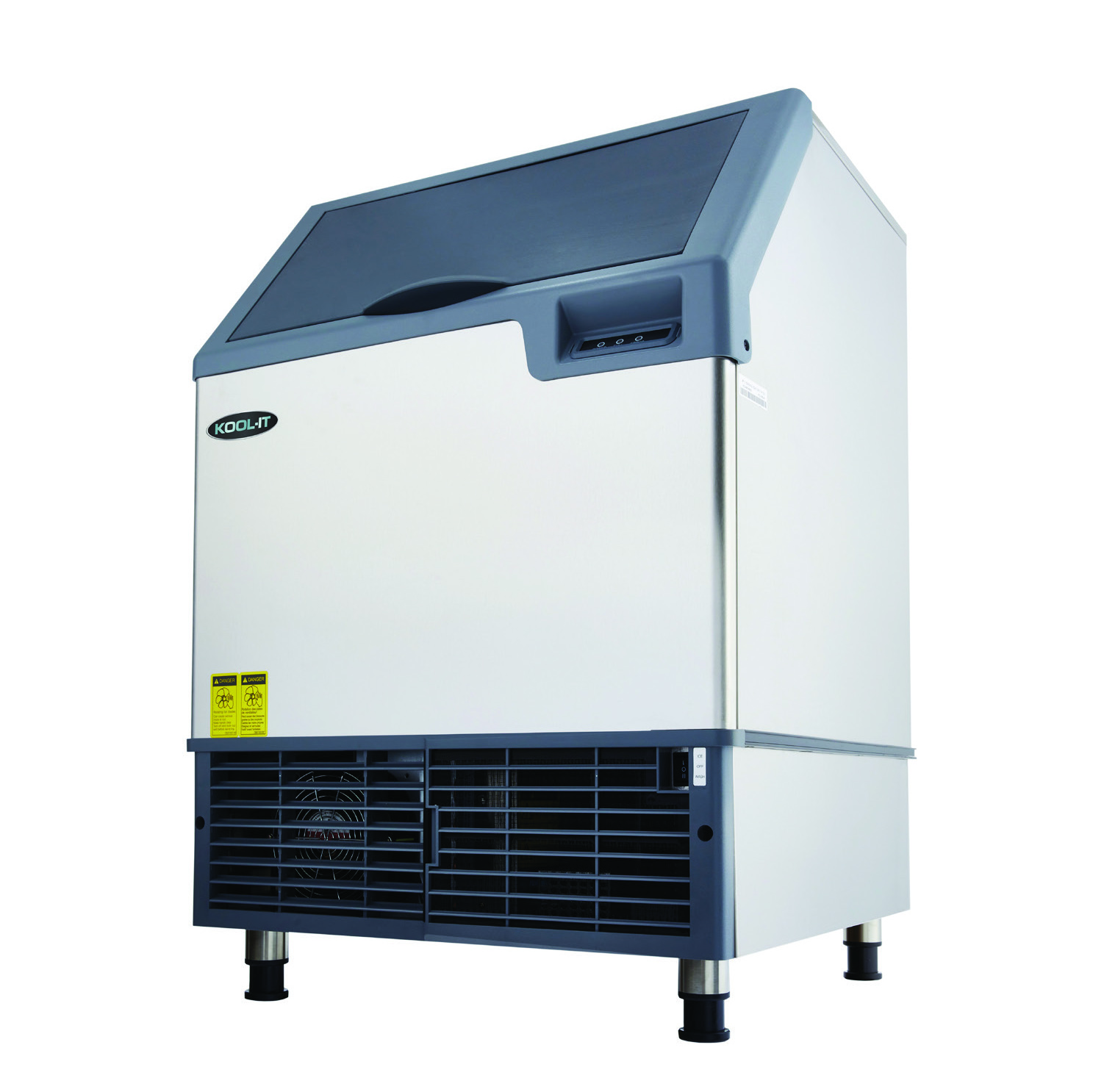 MVP KCU-180-AH ice maker with bin, cube-style