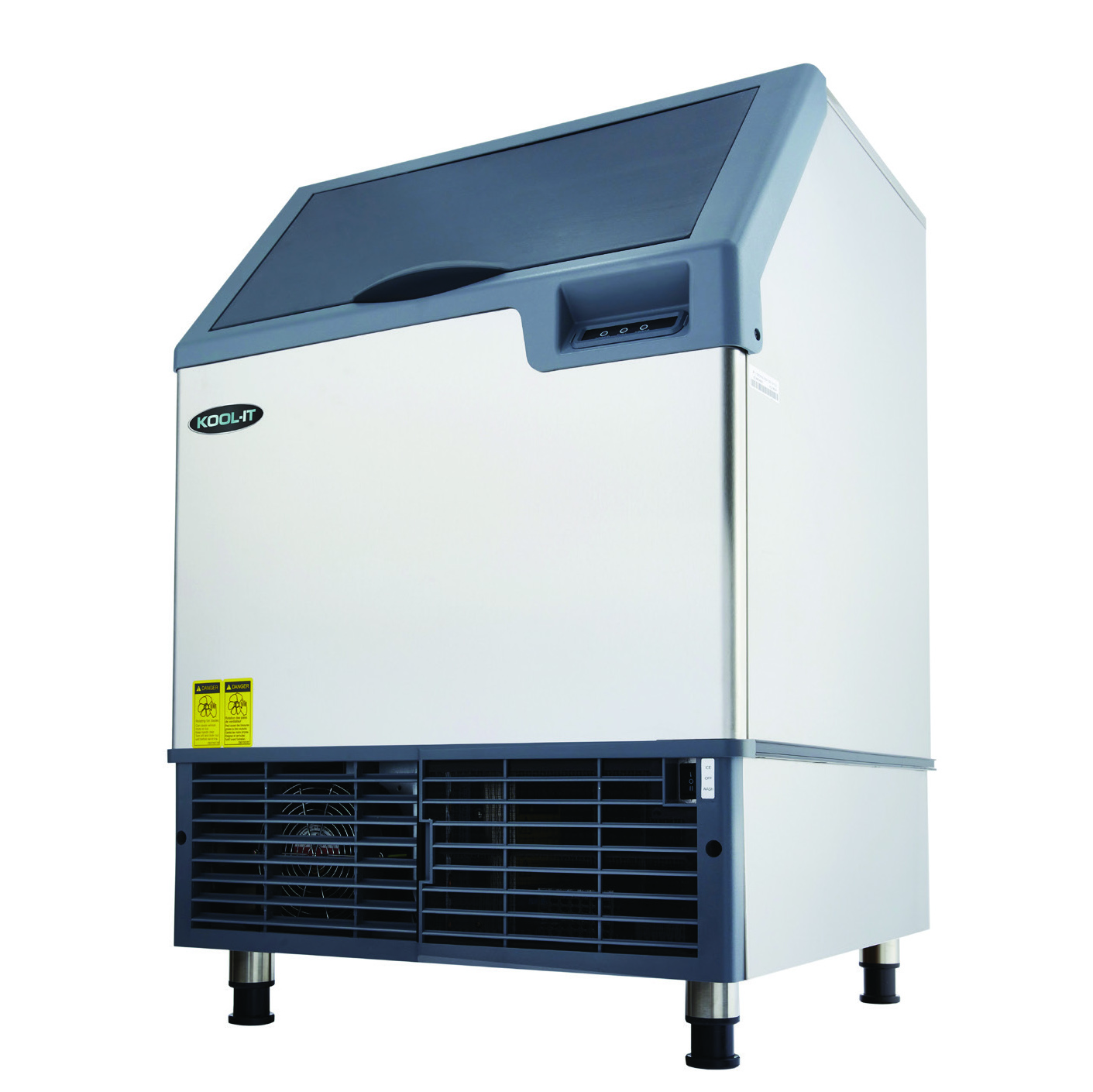 MVP KCU-250-AH ice maker with bin, cube-style