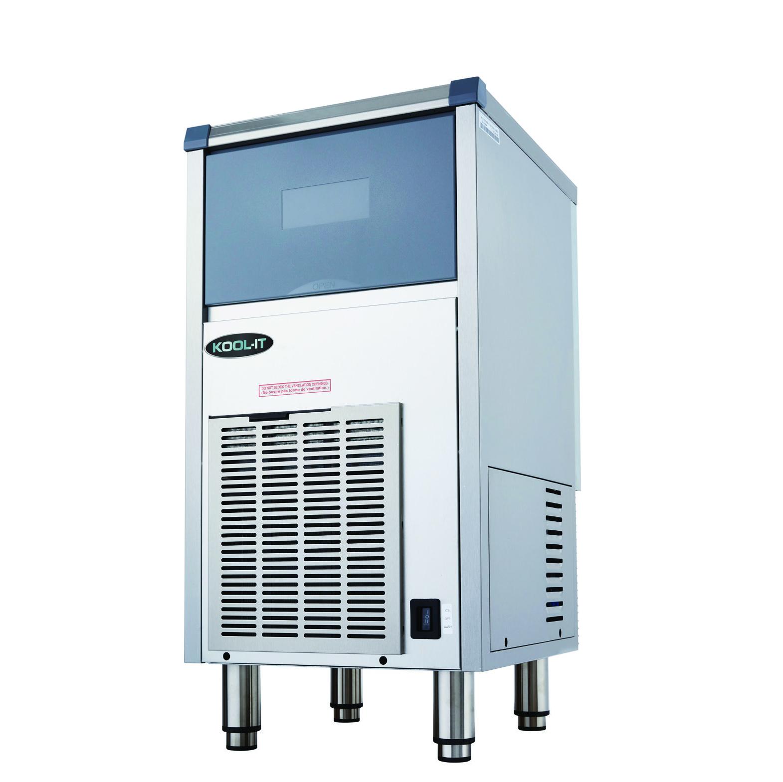 MVP Group LLC KCU-80-AB ice maker with bin, cube-style