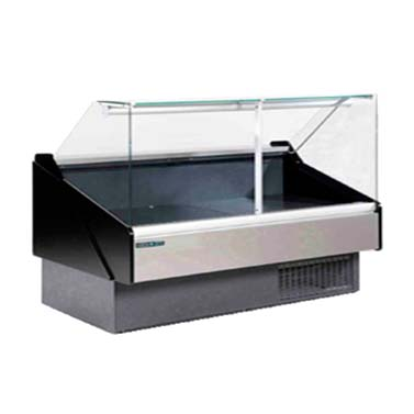 MVP KFM-FG-100-S display case, red meat deli