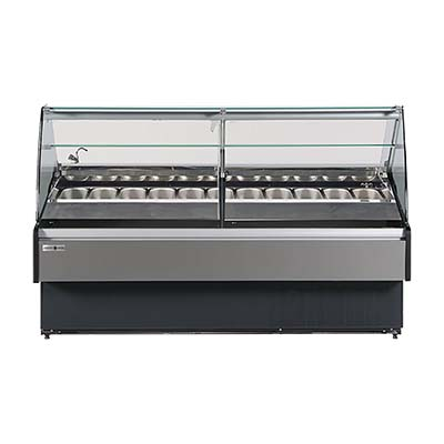 MVP KFM-GL-40-S display case, dipping, gelato