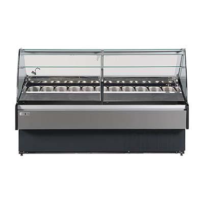 MVP Group LLC KFM-GL-80-S horizontal freezers and dipping cabinets