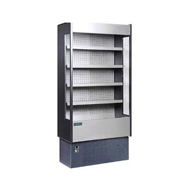 MVP KGH-OF-40-S merchandiser, open refrigerated display