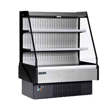 MVP KGL-OF-50-S merchandiser, open refrigerated display