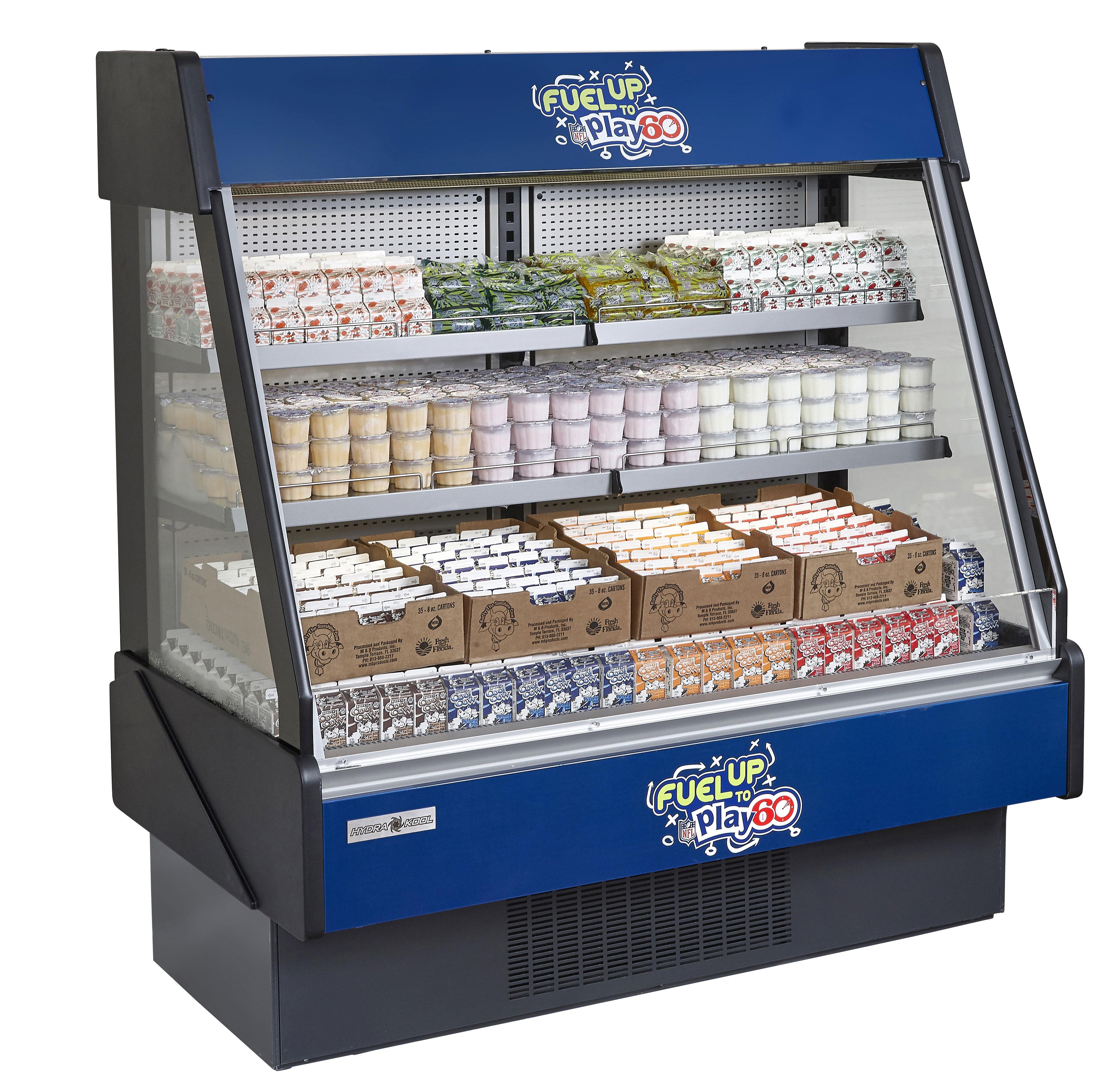 MVP KGL-RM-40-R merchandiser, open refrigerated display