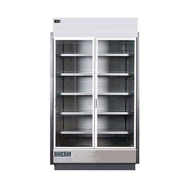 MVP Group LLC KGV-MR-2-S glass door merchandisers