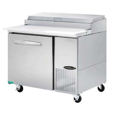 MVP KPT-44-1 refrigerated counter, pizza prep table