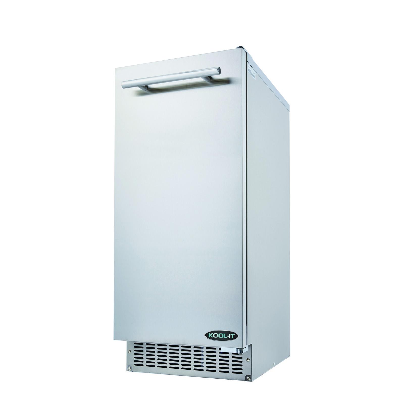 MVP Group LLC KRU-70-AB ice maker with bin, cube-style