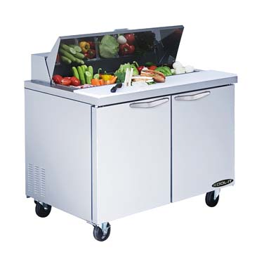 MVP KST-36-2 refrigerated counter, sandwich / salad unit