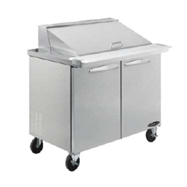 MVP KSTM-36-2 refrigerated counter, mega top sandwich / salad unit