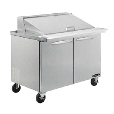 MVP KSTM-48-2 refrigerated counter, mega top sandwich / salad unit