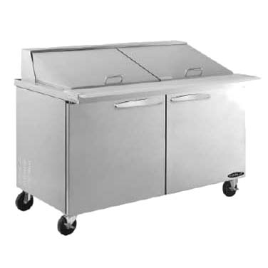 MVP KSTM-60-2 refrigerated counter, mega top sandwich / salad unit