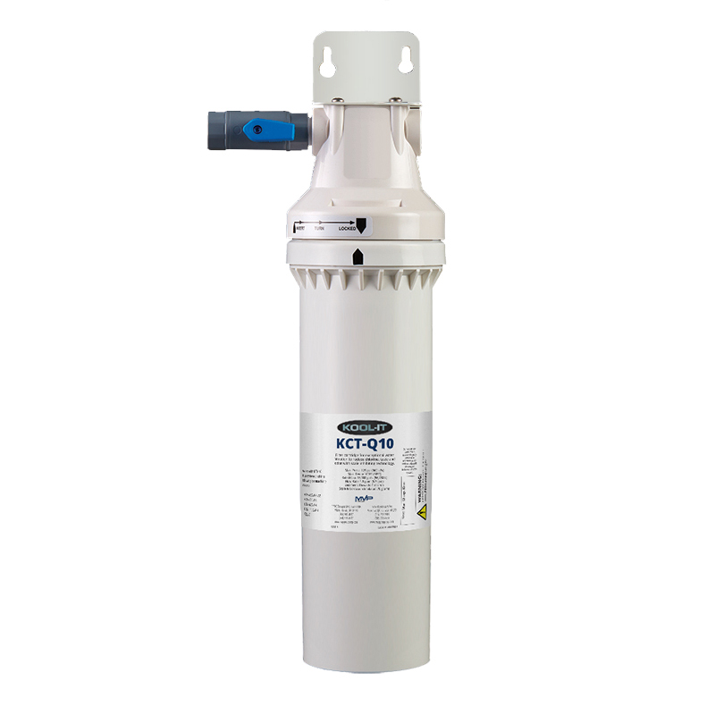 MVP KTI-10-1 water filtration system, for ice machines