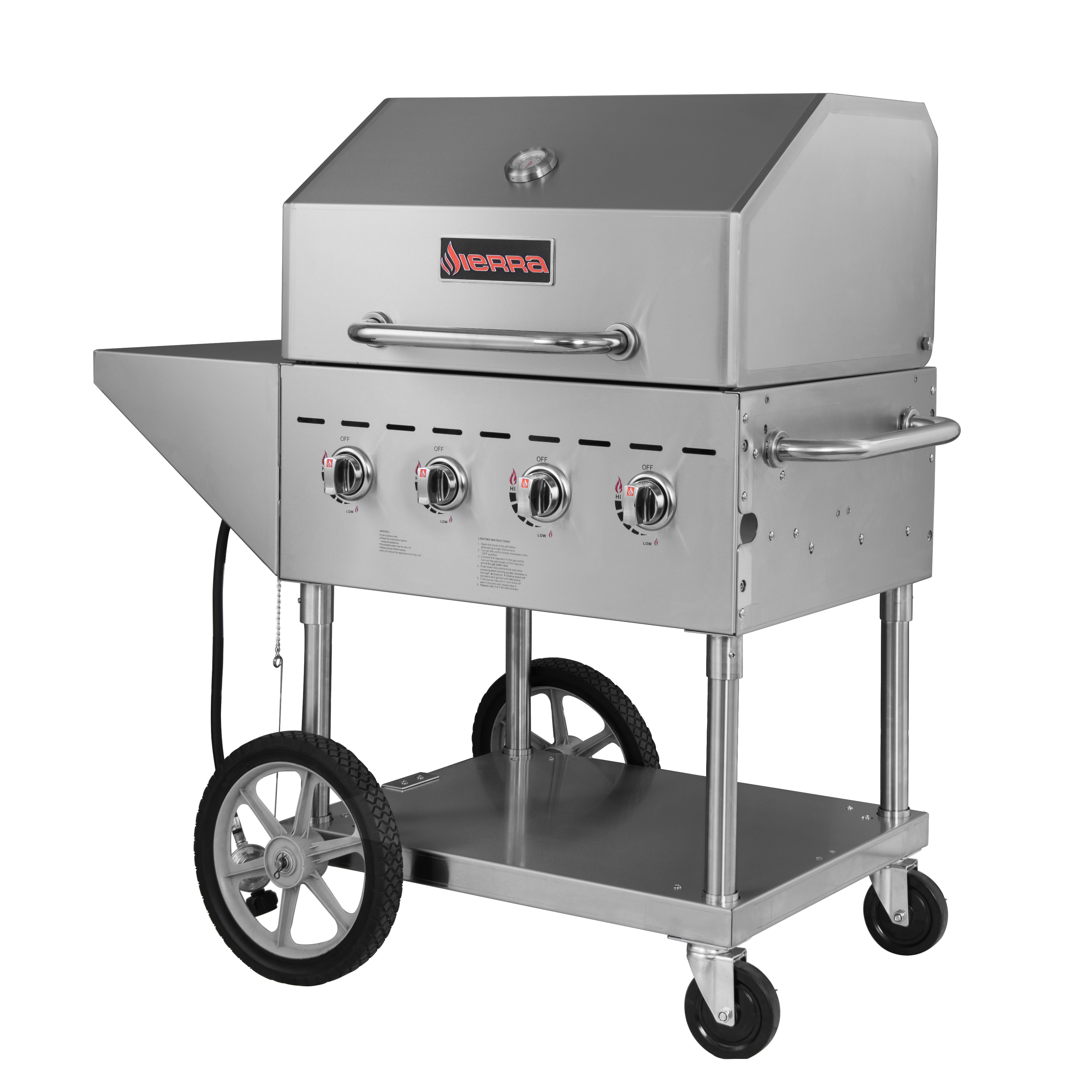 MVP SRBQ-30 charbroiler, gas, outdoor grill
