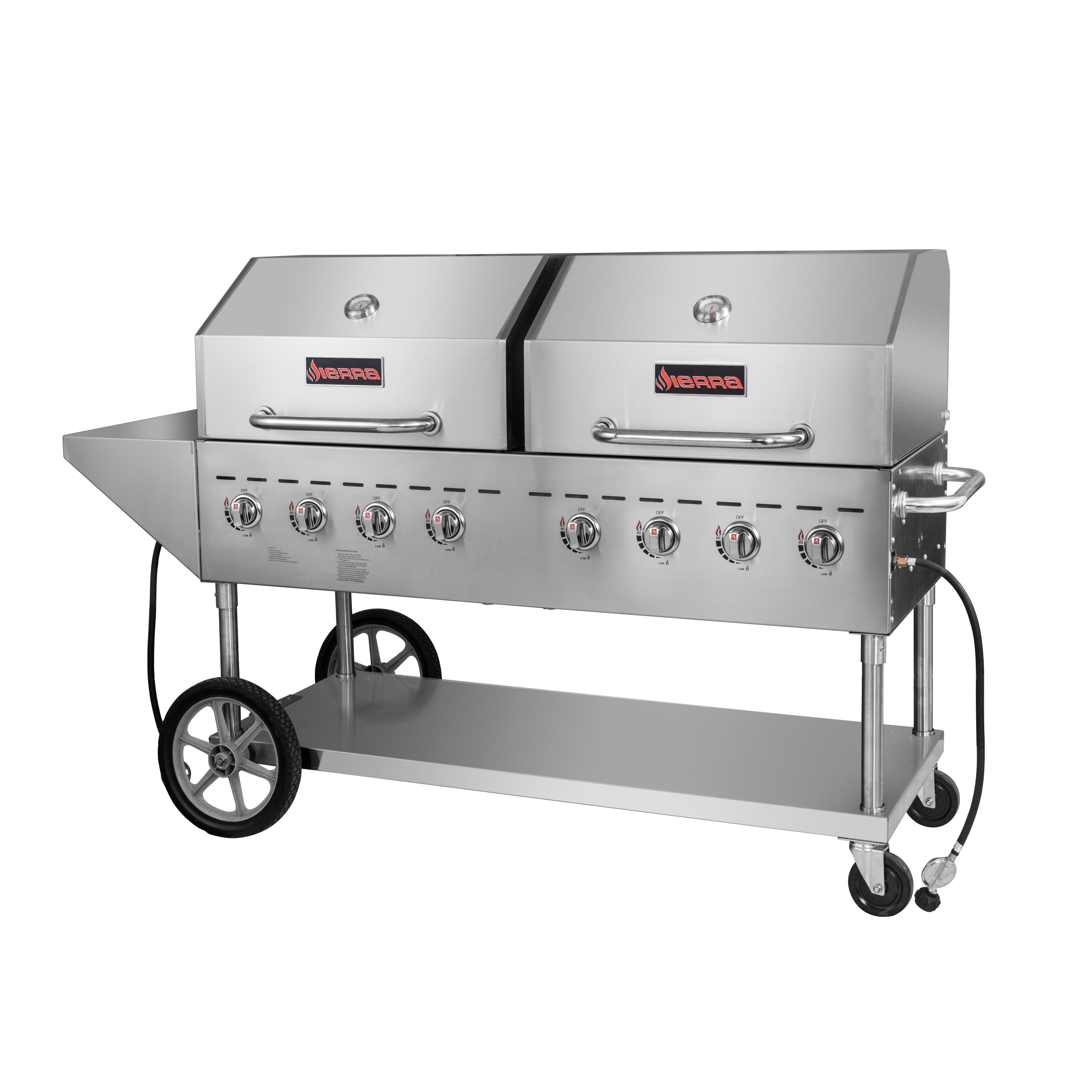MVP SRBQ-60 charbroiler, gas, outdoor grill