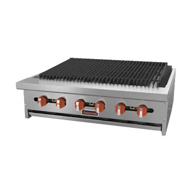 MVP SRCB-24 charbroiler, gas, countertop