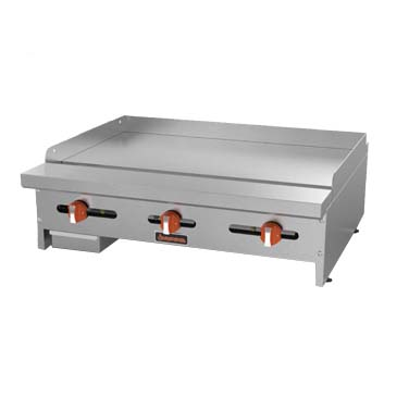 MVP SRMG-48 griddle, gas, countertop