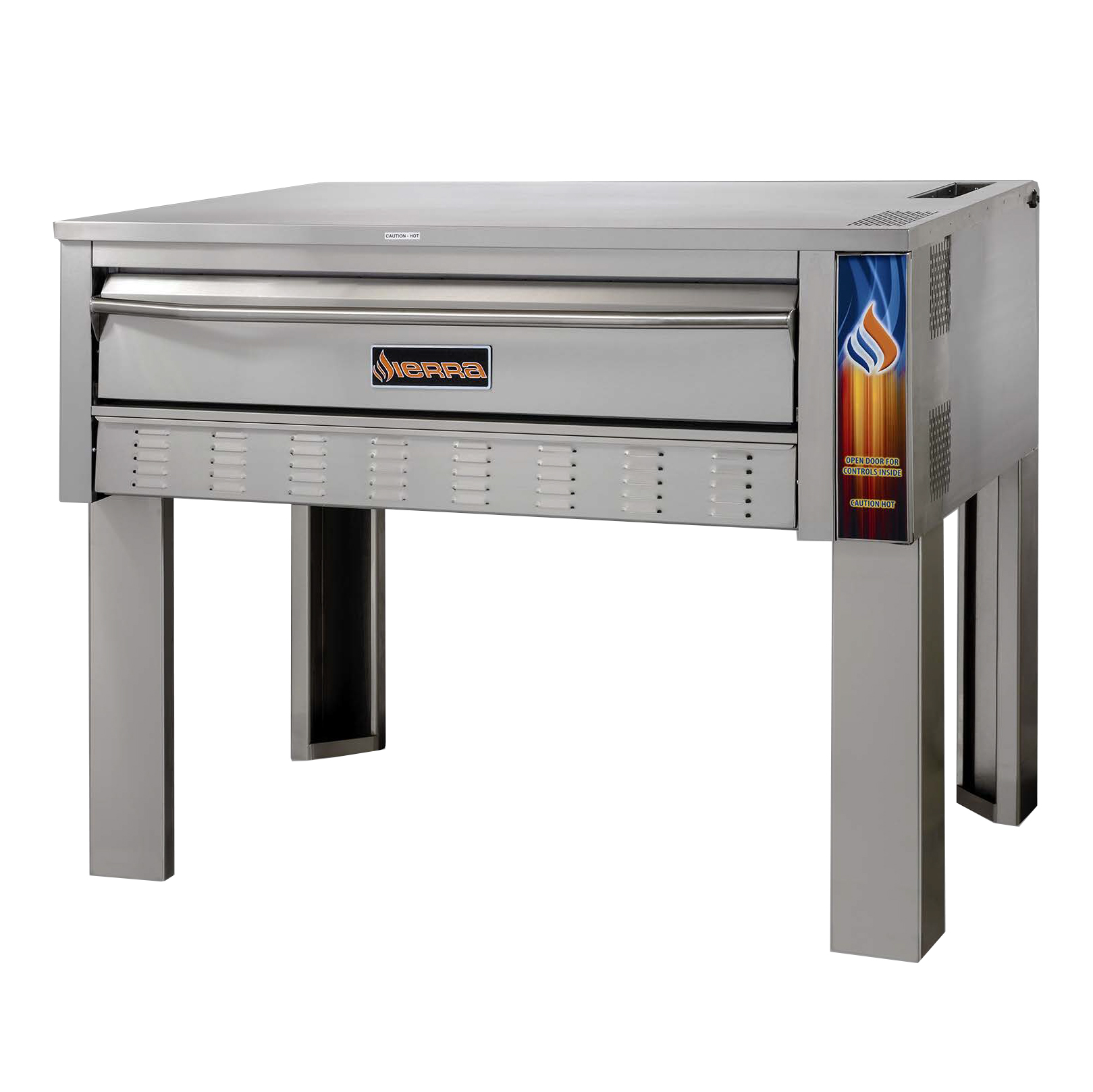 MVP SRPO-72G pizza bake oven, deck-type, gas