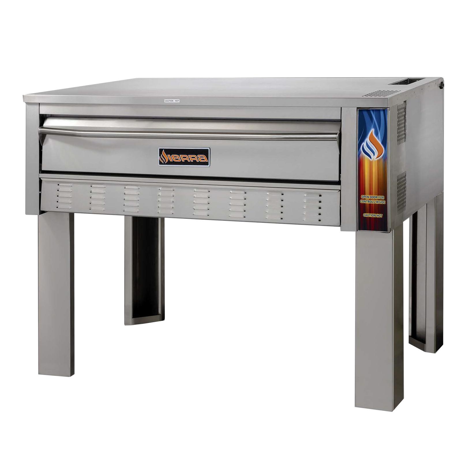 MVP SRPO-72G pizza bake oven, deck-type, gas