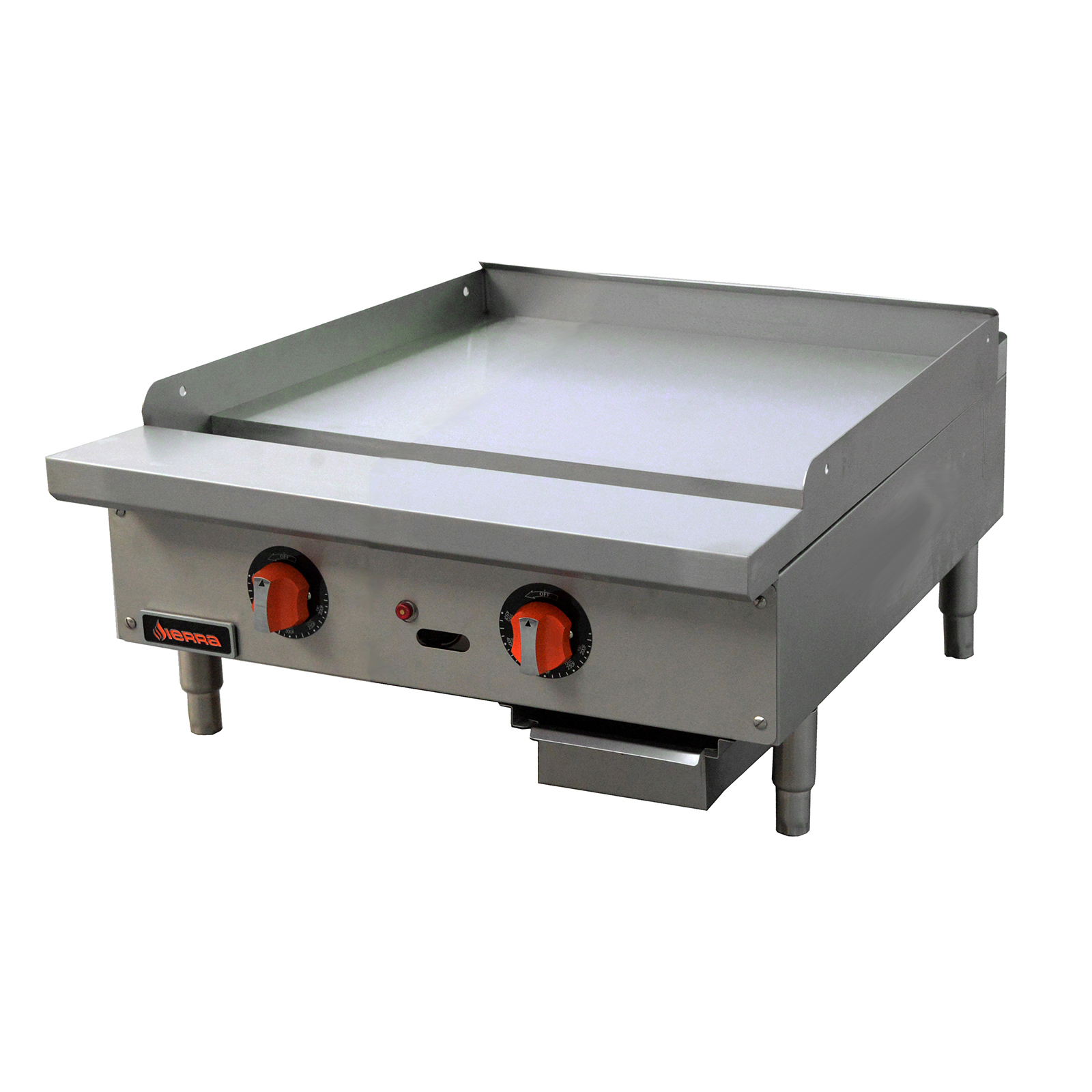 MVP SRTG-24 griddle, gas, countertop