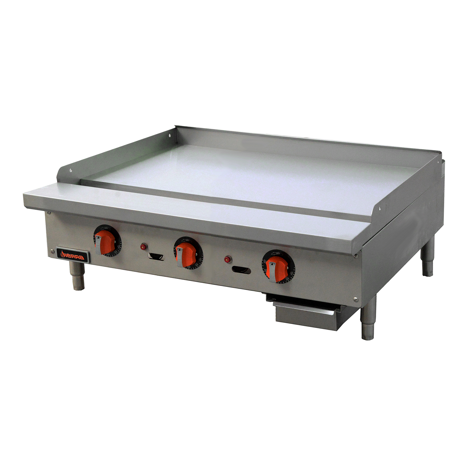 MVP SRTG-36 griddle, gas, countertop
