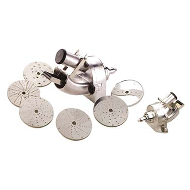 MVP VS-SH food processor, disc plate, shredding / grating