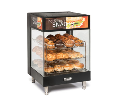 Nemco Food Equipment 6424 display case, hot food, countertop