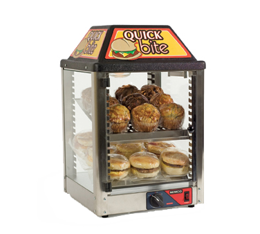 Nemco Food Equipment 6457 display case, hot food, countertop