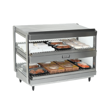 Nemco Food Equipment 6480-30 display merchandiser, heated, for multi-product