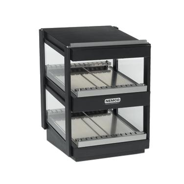 Nemco Food Equipment 6480-36S-B display merchandiser, heated, for multi-product