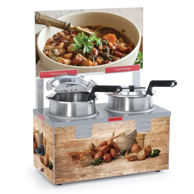 Nemco Food Equipment 6510A-2D4 food pan warmer/cooker, countertop