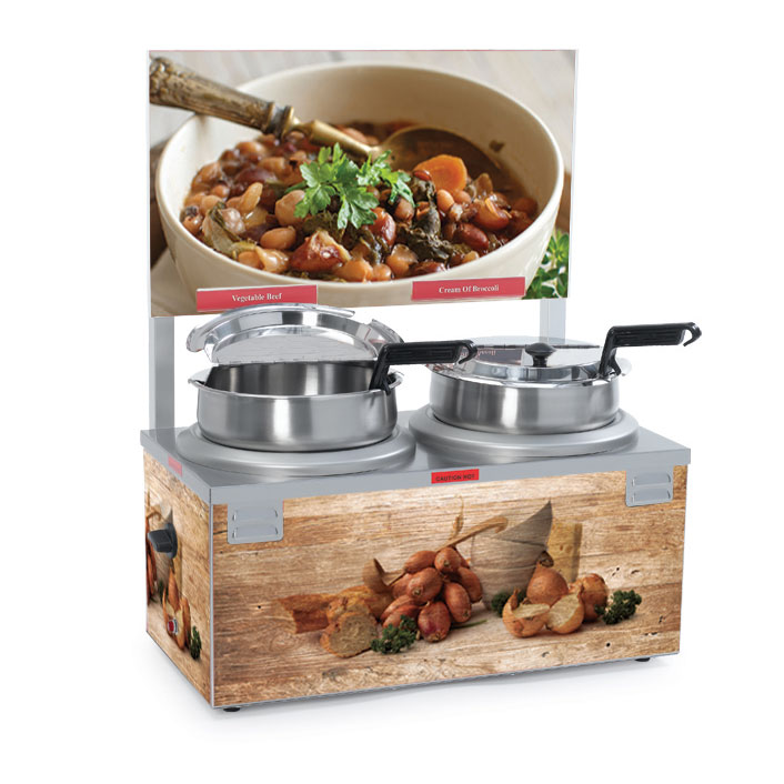 Nemco Food Equipment 6510A-2D7 food pan warmer/cooker, countertop