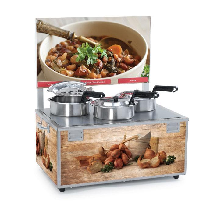 Nemco Food Equipment 6510-T4 food pan warmer/cooker, countertop