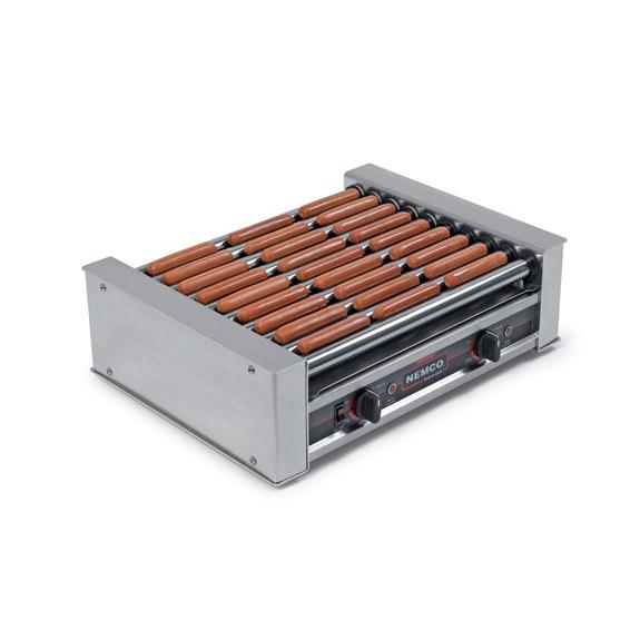 Nemco Food Equipment 8018-220 hot dog grill