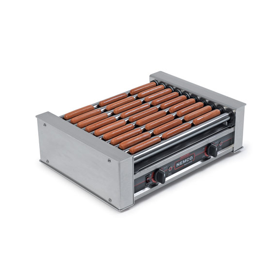 Nemco Food Equipment 8045SXW-220 hot dog grill